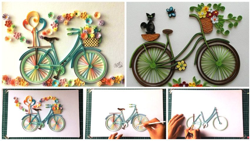 Paper Quilling Art, From Basic to Advance