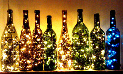 Create Bottle Lamps DIY: Beautiful Ideas for Room Decoration with Simple Crafts