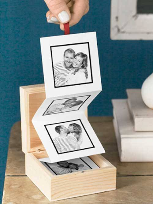 Pull-Out Photo Album DIY Ideas To Turn Your Photos Into Creative Gifts
