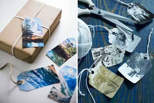 Gift Tags DIY Ideas To Turn Your Photos Into Creative Gifts
