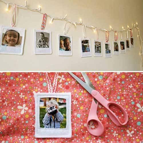 Felt Polaroids DIY Ideas To Turn Your Photos Into Creative Gifts