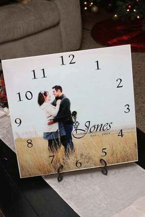 Photo Clock DIY Ideas To Turn Your Photos Into Creative Gifts