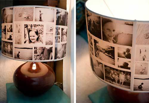 Picture Lampshade DIY Ideas To Turn Your Photos Into Creative Gifts