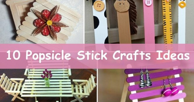 Popsicle Stick Crafts Ideas For Adults K4 Craft