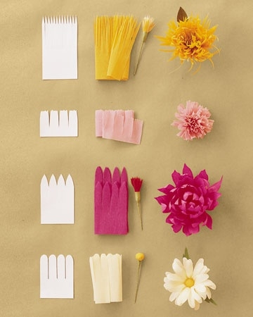 Lovely Flower Beautiful Tissue Paper Craft Ideas