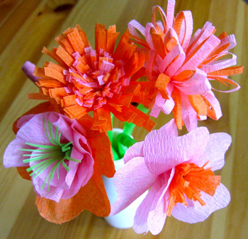 Tissue Paper Flower Bouquet Beautiful Tissue Paper Craft Ideas