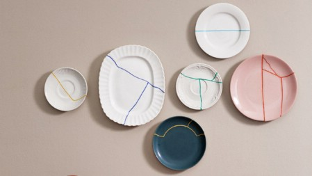 plates Ways to Repurpose and Reuse Broken Household Items