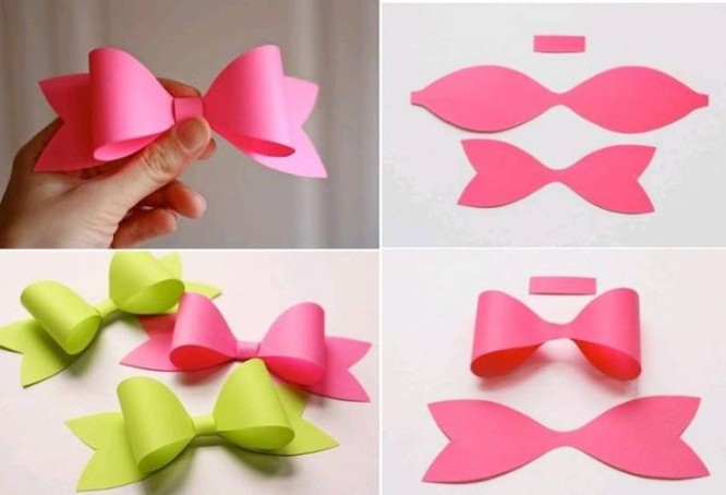 Paper Bow - Tissue Paper Craft Ideas Beautiful Tissue Paper Craft Ideas