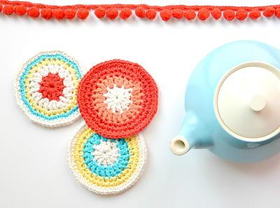 Crochet Ideas:Modern Vintage Coasters step by step tutorial Creative DIY Crochet Patterns For Beginners