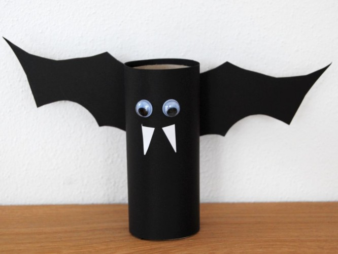 Bat Craft Creative DIY Toilet Paper Roll Craft Ideas