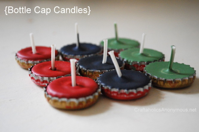 Bottle CapCandles Creative DIY Ideas to Decorate A Candle
