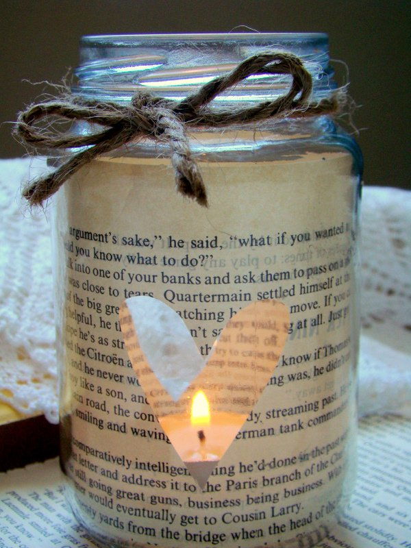 Candle Art in Bottle