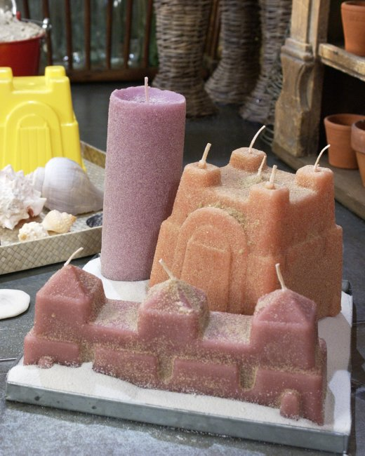 Sand ArtCandles Creative DIY Ideas to Decorate A Candle