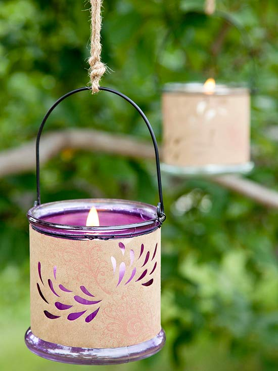 CandleOutdoor Glow Creative DIY Ideas to Decorate A Candle