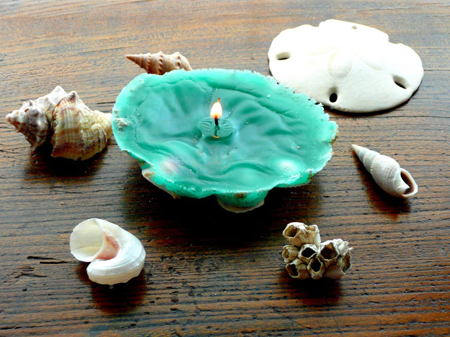 Seashell Candles Creative DIY Ideas to Decorate A Candle