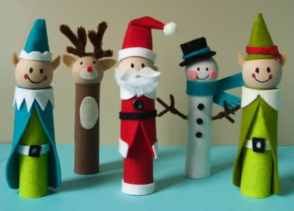 Christmas Toilet Paper Roll Craft Creative DIY Toilet Paper Roll Craft Ideas