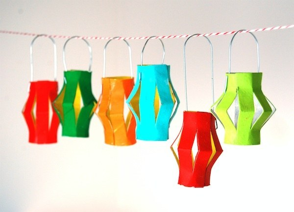 Lamp Creative DIY Toilet Paper Roll Craft Ideas