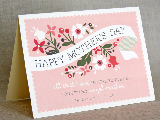 Card Art - Mother's Day Mother's Day Crafts Ideas That She'll Treasure