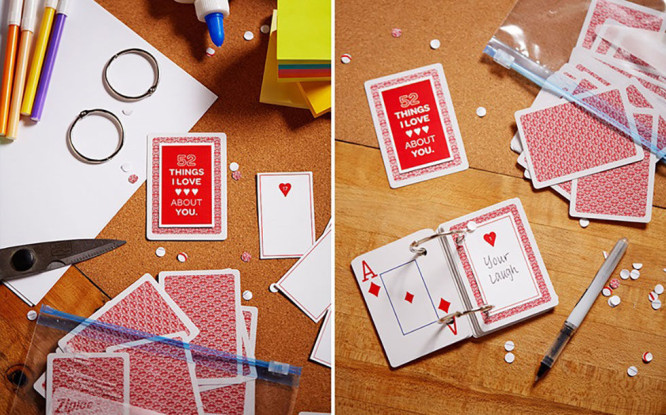 "Things I Love About You"" Deck of Card - Mother's Day Mother's Day Crafts Ideas That She'll Treasure"