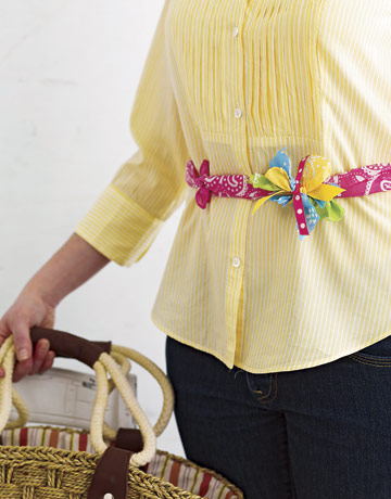 Knotted Belt - Mother's Day Mother's Day Crafts Ideas That She'll Treasure