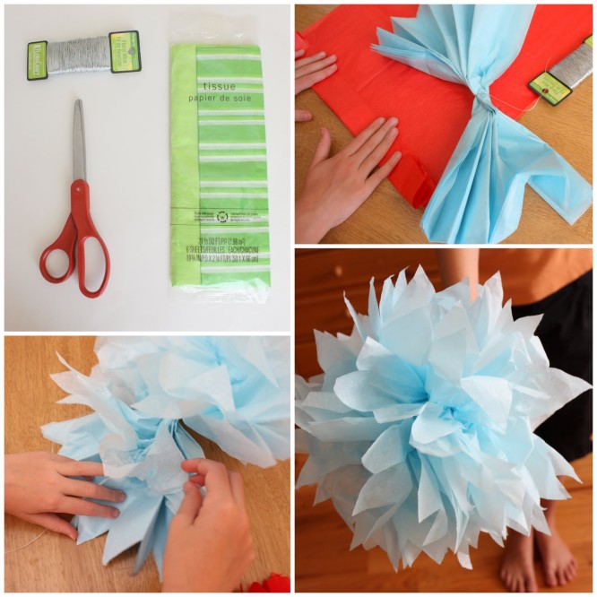 Easy Scarp Paper Flower Beautiful Tissue Paper Craft Ideas