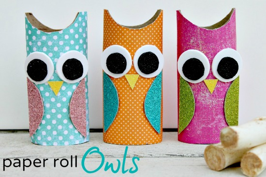 Owl Toilet Paper Roll Craft Creative DIY Toilet Paper Roll Craft Ideas