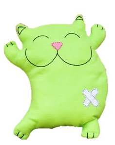 joyful-cat-pillow Creative Easy Craft Ideas For Sewing Toys