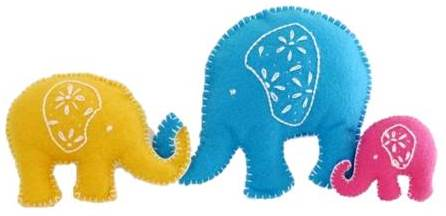 lucky-elephants-toy Creative Easy Craft Ideas For Sewing Toys