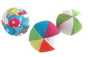 soft-Balls-from-fabric Creative Easy Craft Ideas For Sewing Toys