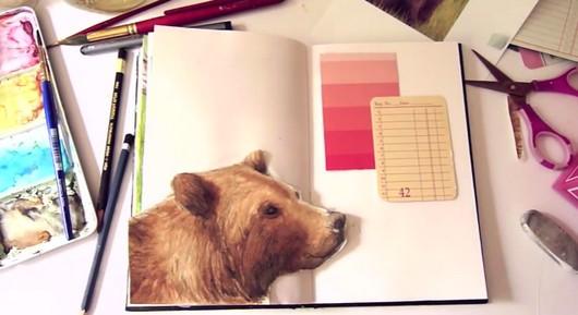 How to Start an Art Journal : Art Journal Ideas for Kids - Tutorials & Techniques