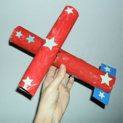 paper-tube-airplane Aircraft Ideas for Kids