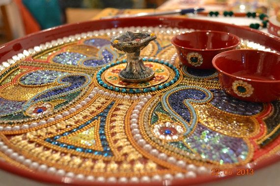 puja-thali Thali Decoration Ideas During Navratri