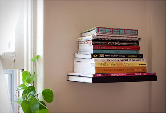 Learn to Make Invisible Bookshelves
