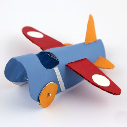 paper-plate-craft Aircraft Ideas for Kids