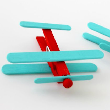 popsicle-stick-planes Aircraft Ideas for Kids