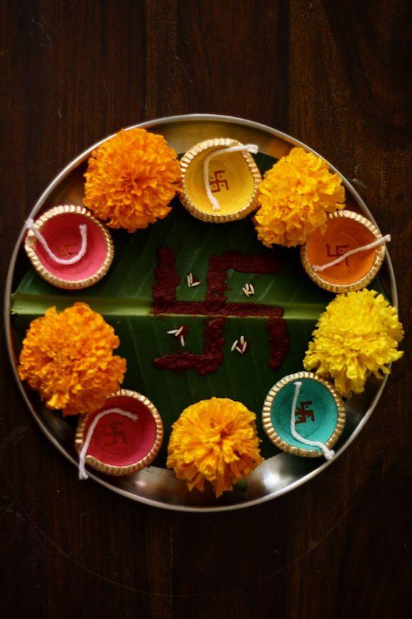 Thali Decoration Ideas During Navratri
