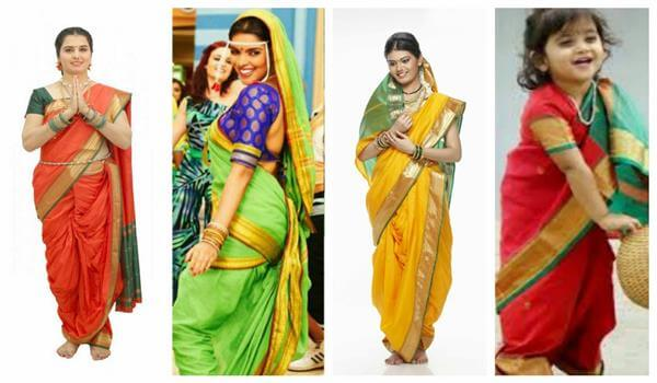 Maharashtra Traditional Sarees Traditional Indian Dresses for Womens to Wear at Festivals