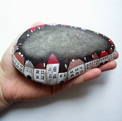 Fine arts Decorative Stones Decorative Stones & Gravel, Paint Craft Ideas