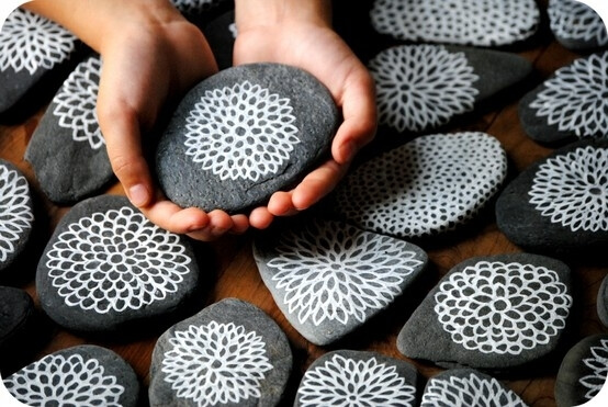 Decorative Stones & Gravel, Paint Craft Ideas