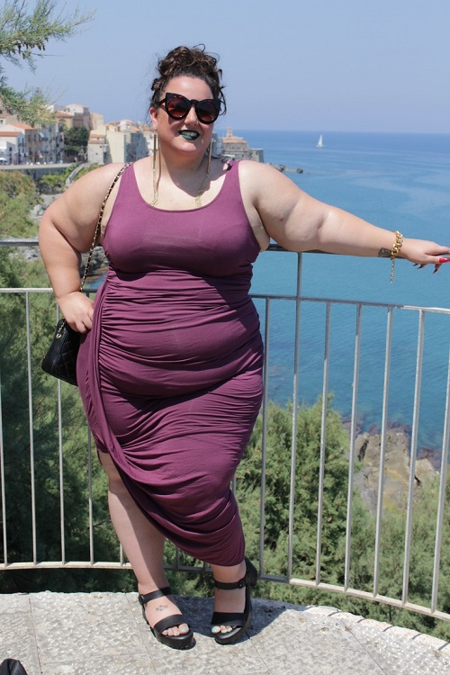 asymmetrical-maxi-dress Learn To Wear Maxi Dresses And Midis When You Are Plus Size