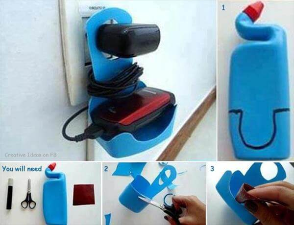 Charging Unit From Wast Plastic How to make things from plastic bottles