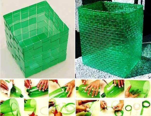 Container Made From Plastic Bottle How to make things from plastic bottles