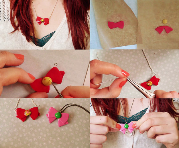 craft-a-beginner-level-sailor-moon-bow-necklace-and-show-off-your-mad-skills Awesome Polymer Clay Project Video Tutorials