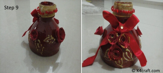 decorative-candle-holder Learn to Make Beautiful Candle Holder from Plastic bottle