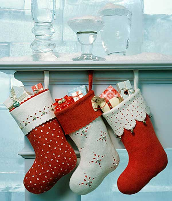 Jingle Bell Stockings Easy and Affordable Christmas Decorations Ideas