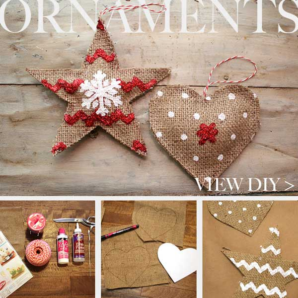 Jute Country Ornament DIY