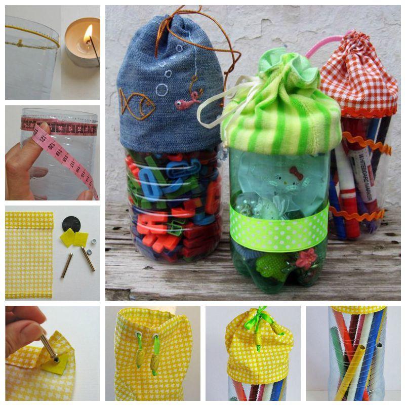 Plastic Bottles Gift How to make things from plastic bottles