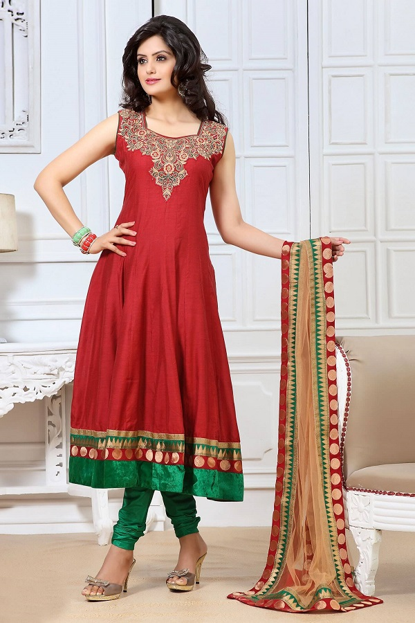 Designer Anarkali Suit Salwar Kameez Suits: Traditional Dresses for Indian & Pakistani Women to Look Awesome