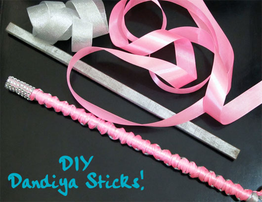 dandiya-sticks-1 Make Dandiya Sticks for Garba This Navratri (Video Tutorial)