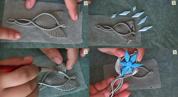 go-lord-of-the-rings-and-craft-arwens-evenstar-pendant Awesome Polymer Clay Project Video Tutorials